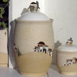 Zwiebeltopf keramik